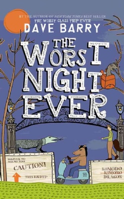 The Worst Night Ever: Library Edition (CD-Audio)