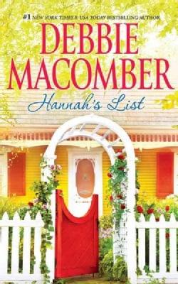 Hannah's List: Bonus Includes a Debbie Macomber Recipe and Knitting Pattern! (CD-Audio)