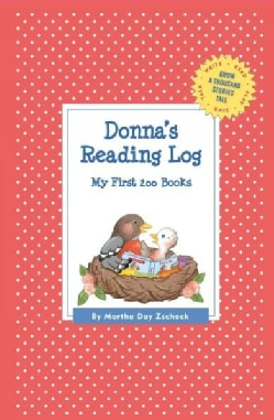 Donna's Reading Log: My First 200 Books (Record book)