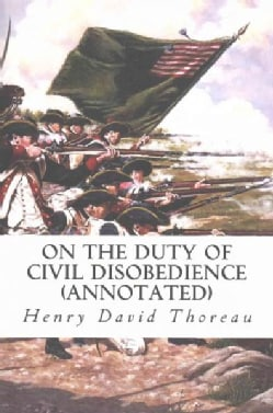 On the Duty of Civil Disobedience (Paperback)