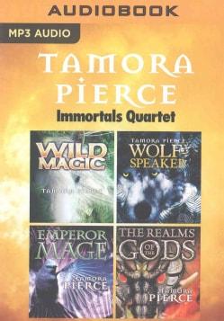 Tamora Pierce Immortals Quartet: Wild Magic / Wolf-speaker / Emperor Mage / the Realms of the Gods (CD-Audio)