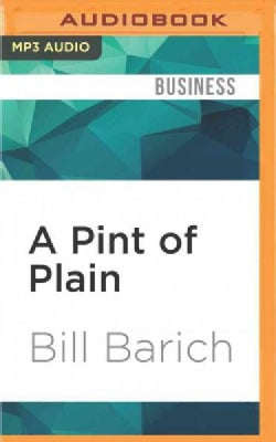 A Pint of Plain: Tradition, Change and the Fate of the Irish Pub (CD-Audio)