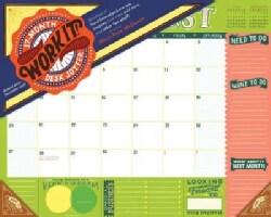 Work It! 17-month 2018 Desk Jotter (Calendar)
