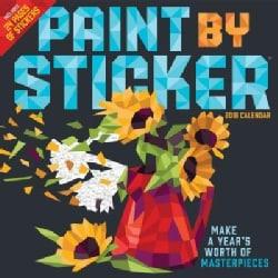 Paint by Sticker 2018 Calendar (Calendar)