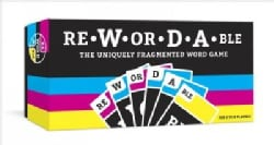 Rewordable: The Uniquely Fragmented Word Game (Game)