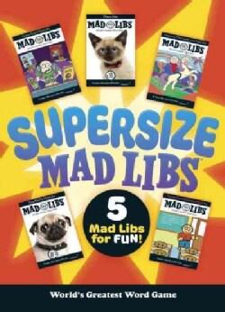 Supersize Mad Libs (Paperback)