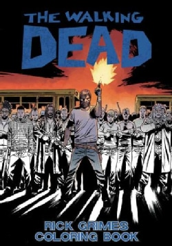 Walking Dead Rick Grimes Adult Coloring Book (Paperback)