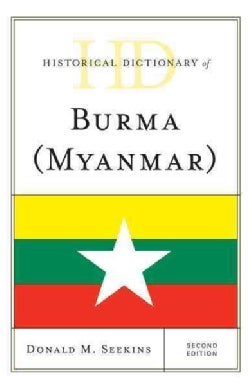 Historical Dictionary of Burma-Myanmar (Hardcover)