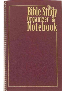 Bible Study Organizer & Notebook (Notebook / blank book)