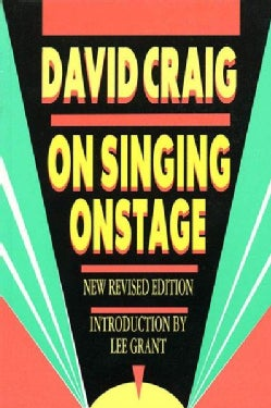 On Singing Onstage (Paperback)