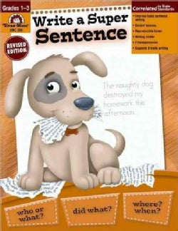 Write a Super Sentence Grades 1-3 (Paperback)