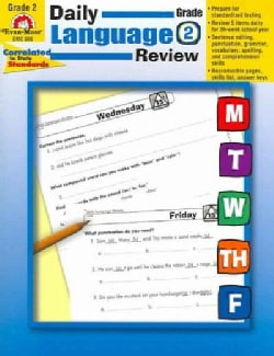 Daily Language Review, Grade 2 (Paperback)