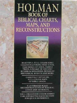 Holman Book of Biblical Charts, Maps, and Reconstructions (Hardcover)