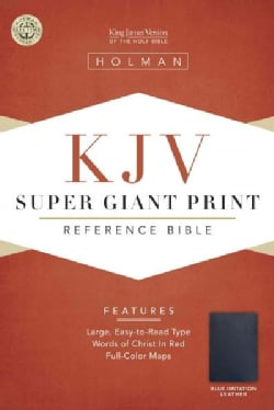 The Holy Bible Reference: King James Version, Blue Imitation Leather, Die-Cut (Paperback)
