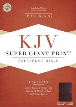 King James Version Super Giant Print Reference Bible: Indexed (Paperback)