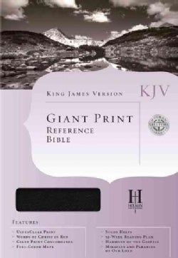 Cornerstone Giant Print Reference Bible (Paperback)