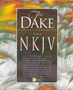 Dake's Annotated Reference Bible: New Kings James Version, Black Leathersoft (Paperback)