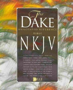 Holy Bible: New King James Version Dake Annotated Reference, Burgundy Leathersoft (Paperback)