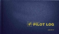 The Standard Pilot Log: Navy Blue (Hardcover)