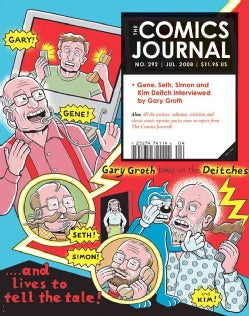 The Comics Journal 292 (Paperback)