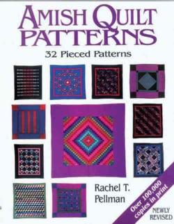 Amish Quilt Patterns (Paperback)