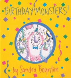 Birthday Monsters (Board book)