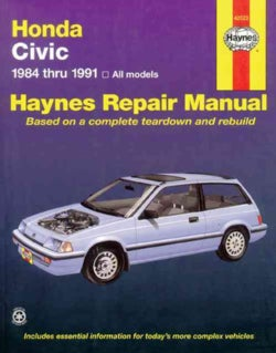Honda Civic Automotive Repair Manual, 1984-1991 (Paperback)