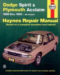 Plymouth Acclaim& Dodge Spirit Automotive Repair Manual