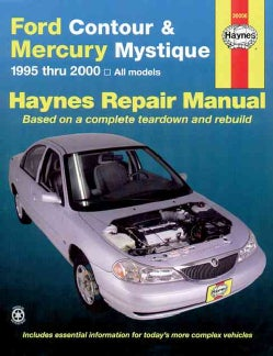 Ford Contour and Mercury Mystique, 1995-2000 (Paperback)