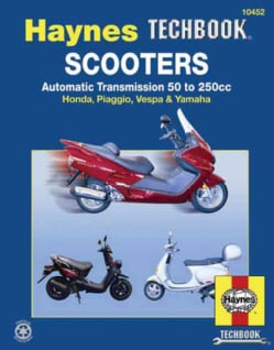 Scooters Service and Repair Manual (Paperback)