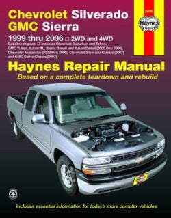 Chevrolet Silverado & GMC Sierra Pick-Ups 1999 Thru 2006 Automotive Repair Manual: 2wd and 4wd (Paperback)