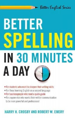 Better Spelling in 30 Minutes a Day (Paperback)