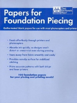 Papers for Foundation Piecing (Paperback)