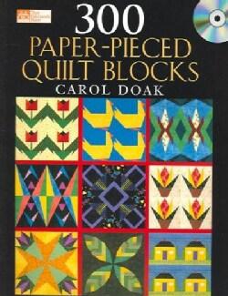 300 Paper-pieced Quilt Blocks