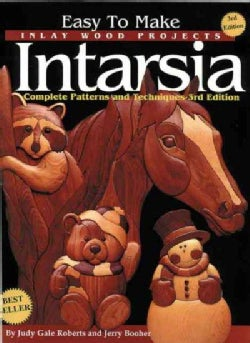 Easy to Make Inlay Wood Products: Intarsia : Complete Patterns and Techniques (Paperback)