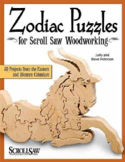 Zodiac Puzzles for the Scroll Saw Woodworking (Paperback)
