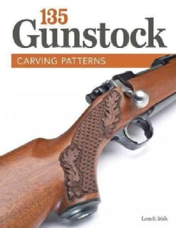 135 Gunstock Carving Patterns (Paperback)