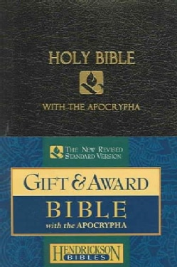 Holy Bible: New Revised Standard Version With The Apocrypha Black Imitation Leather, Gift & Award Bible (Paperback)