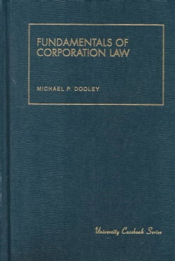 Fundamentals of Corporation Law (Hardcover)