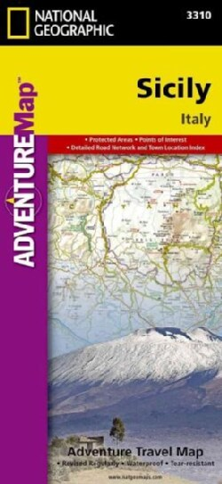 National Geographic Adventure Map Sicily: Italy (Sheet map, folded)