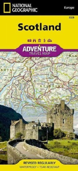 National Geographic Adventure Map Scotland (Sheet map, folded)