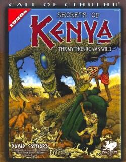 Secrets of Kenya: The Mythos Roams Wild (Paperback)