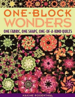 One-Block Wonders: One Fabric, One Shape, One-of-a-kind Quilts (Paperback)