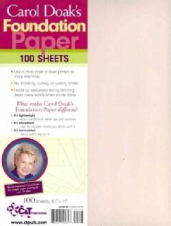 Carol Doak's Foundation Paper (Paperback)