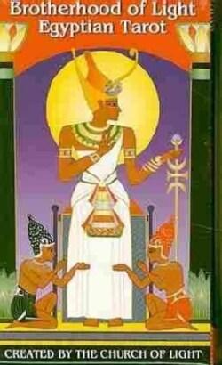 Brotherhood of Light Egyptian Tarot (Cards)