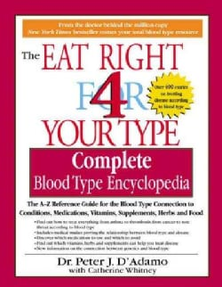 Eat Right for Your Type: Complete Blood Type Encyclopedia (Paperback)