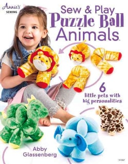 Sew & Play Puzzle Ball Animals (Paperback)