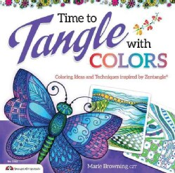 Time to Tangle With Color (Paperback)