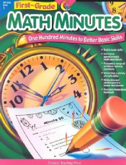 First-Grade Math Minutes: One Hundred Minutes to Better Basic Skills (Paperback)