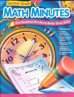Second Grade Math Minutes: One Hundred Minutes to Better Basic Skills (Paperback)